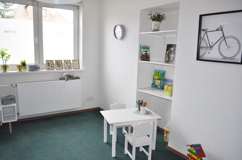 Praxis für Logopädie - Ulrike Joffroy in Sonneberg - Wartezimmer Spielecke